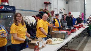 Serving Line Valders Fish Boil